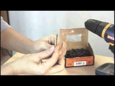 DIY Tip:  Drilling Pilot Holes