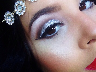 Halloween Look: Great Gatsby. Flapper hair & makeup tutorial! | NellysLookBook