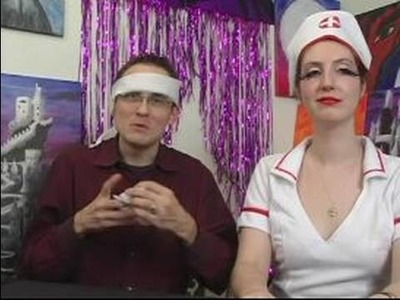 How to Make a Sexy Nurse Costume for Halloween : Bandages & Gloves for Sexy Nurse Costumes