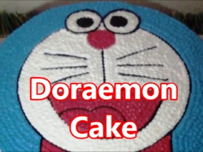 How to Make Unique Doraemon Cake