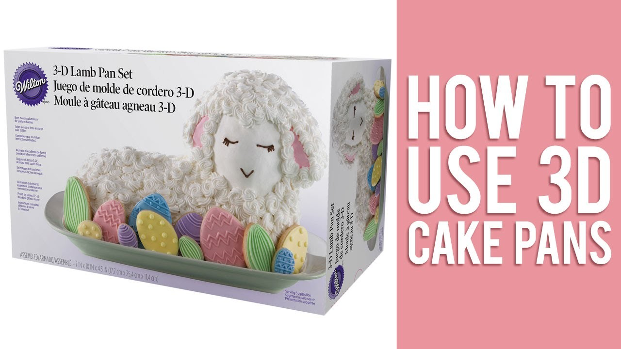 How to use 3D Cake Pans to Bake Stand-Up Cakes