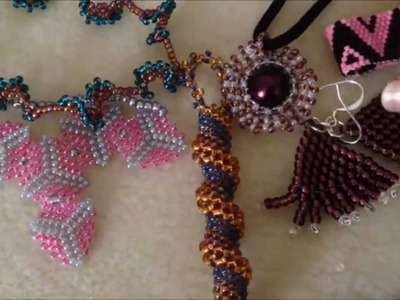 JRPDesigns presents Peyote Stitch Beaded Jewelry with Curious.com