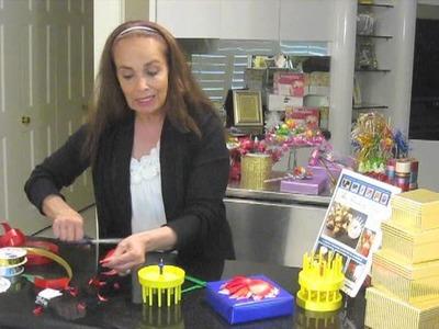 Ribbon Magic Original Bow Maker - How to make a Poinsettia or Daisy Bow
