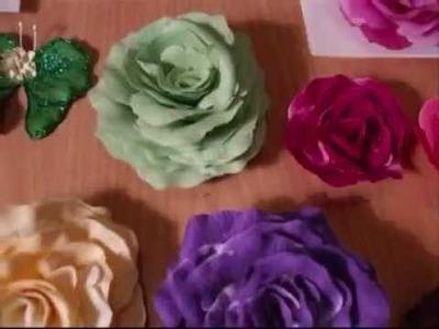 Shabby Chic Flowers & Butterflies - jennings644