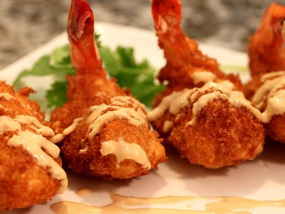Tempura Shrimp - Panko Fried Shrimp Recipe