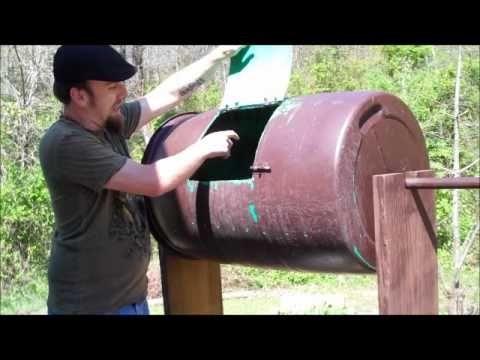 The Garden Rockstar - The Homemade Compost Tumbler