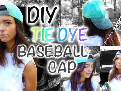 TIE DYE BASEBALL CAP