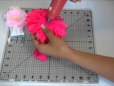 A Trimweaver Idea: Attaching a Flower to a Nylon Headband