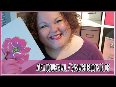 Art Journal. Smashbook Flip December 2013