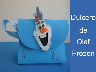 Como hacer un dulcero de frozen ( How to make a Dulcero of frozen )