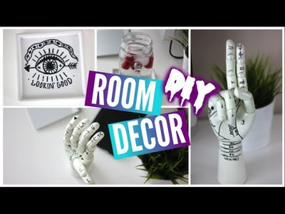 DIY Tumblr Room Decor 2015 | DIY Room Decorations Tumblr Inspired 2015!