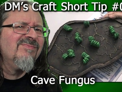 Easy to Craft Cave Fungus for your Tiles (Short Tip, EP2)