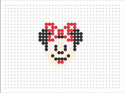 Hama Bead Minnie Mouse (Disney Series #4)