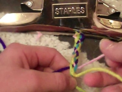 How to make a 5 strand braid
