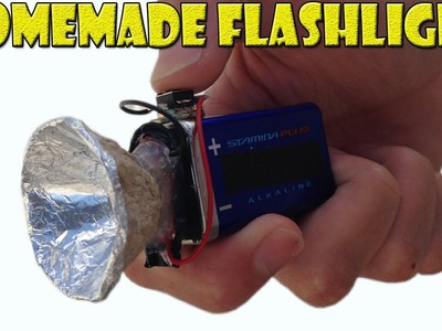 How to Make a Homemade Mini Flashlight