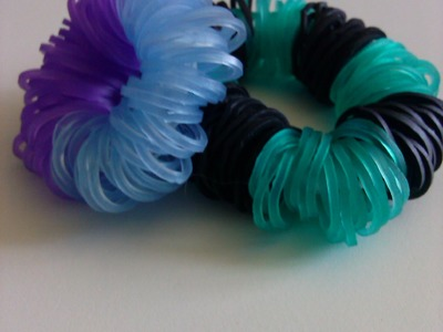 How to make the Fluffy Bracelet- Rainbowloom