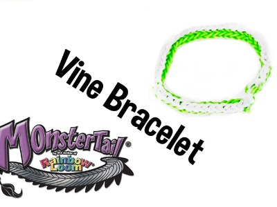 Monster Tail™ Vine Bracelet Tutorial by Rainbow Loom