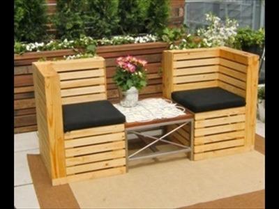 Pallet furniture ideas. Pallet furniture tutorial