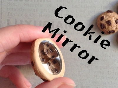 Polymer Clay Cookie Mirror Tutorial