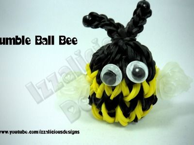 Rainbow Loom Bumble Bee Ball Charm
