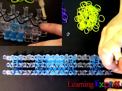 Rainbow Loom: Worm Bracelet Tutorial