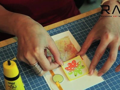 Random Art Workshop (RAW) - Card Making Techniques with Ting Lam  #01