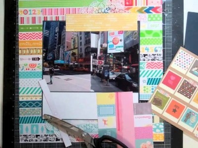 Scrapbooking Process 116: I (heart) this city