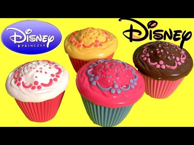 Disney Princess Cupcake Surprise Cinderella Belle - Bonecas Cupcake Surpresa Princesas Kinder Frozen