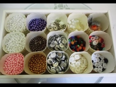 DIY : #97 Tips To Organize Your Craft Supplies ♥