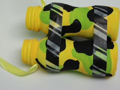 DIY Recycling Crafts for Kids: Binoculars out of Plastic Bottles   Recycled Bottles Crafts