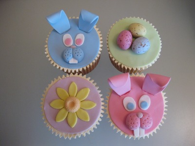 Easter Cupcakes (How to tutorials on my channel)