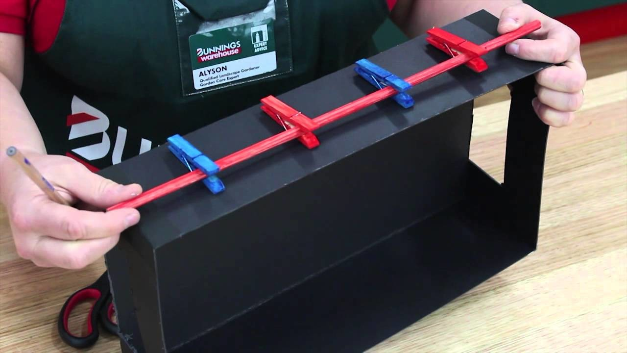 How To Make A Mini Foosball Game - DIY At Bunnings
