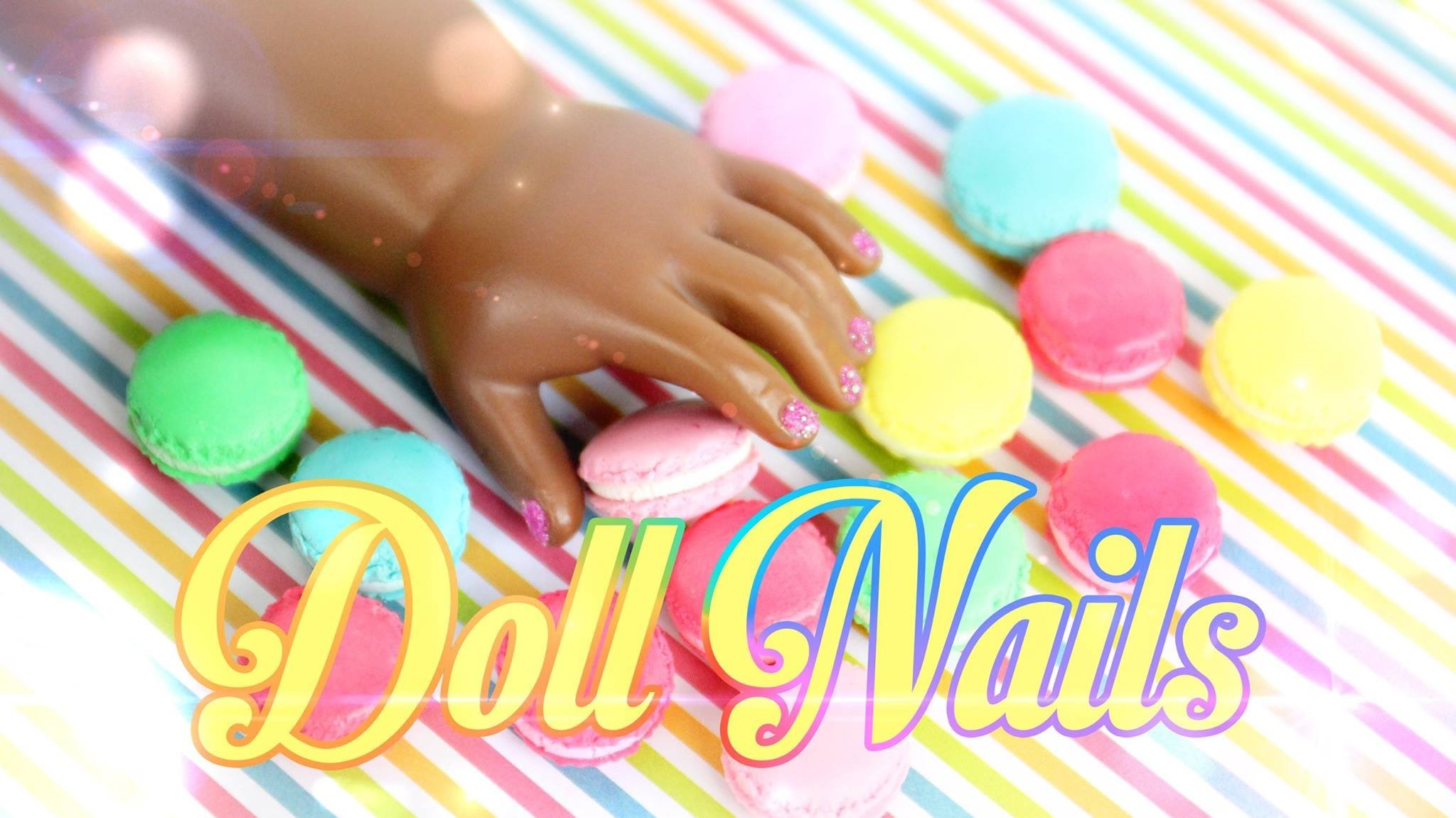 How to Make Painted Doll Nails - Doll Crafts