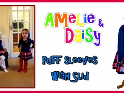 How to sew a Seasonal Tunic Dress - Step by Step Tutorial (Daisy & Amelie Pattern Mix)