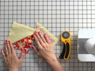 How to Use the Quilt in a Day Flying Geese Ruler - Fat Quarter Shop