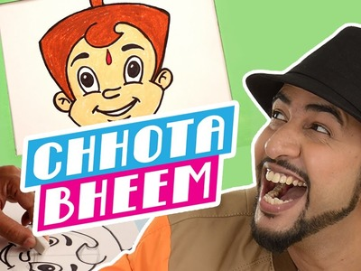 Mad Stuff with Rob – How to draw Chhota Bheem | DIY Drawing for children