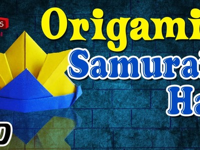 Origami - How To Make SAMURAI HAT - Simple Tutorial In English