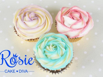 Piping Nozzle Comparisons - Wilton Star tips - Buttercream Rose