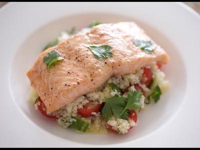 Salmon & Couscous Salad | Byron Talbott