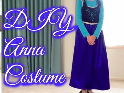 DIY Anna Frozen Costume