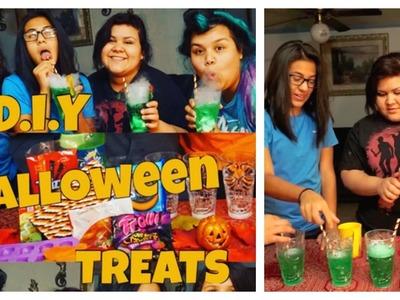 DIY Halloween Treats | UFFHV CREW