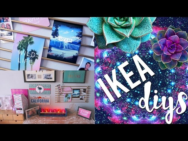 DIY Room Decor Using IKEA Homeware | Pinterest and Tumblr Inspired