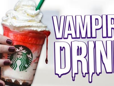 DIY Starbucks FRAPPULA Frapp ♥ Vampire Inspired Drink