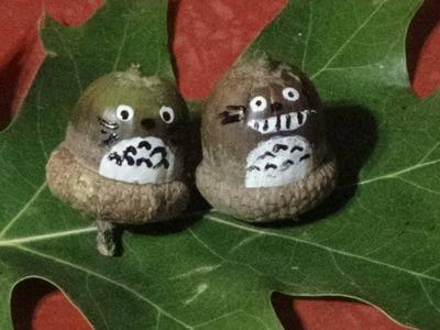 DIY Totoro Acorns