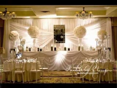 Easy DIY wedding backdrop decorating ideas