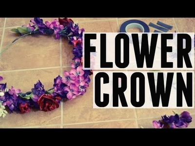 Flower Crown | DIY | Angelina Hartman