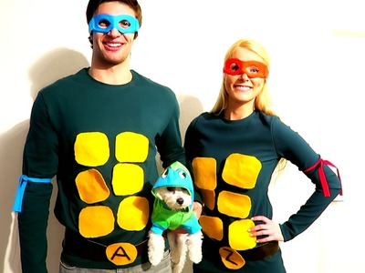 How To: DIY Ninja Turtles Costume! (Cheap & Easy)