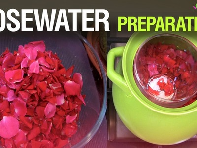 Make Rose Water at Home -DIY