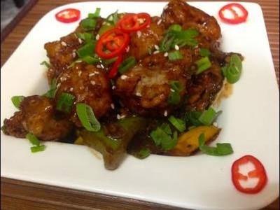 Chilli Chicken - Restaurant Style
