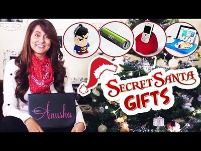 DIY Christmas! Secret Santa favs! | Anusha Dandekar
